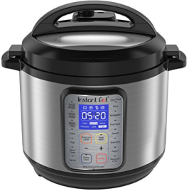 Use your Instant Pot to make Broth. Shown here is 6 Quart Instant Pot.