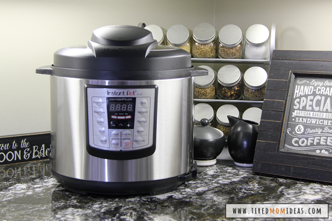 The Instant Pot is a pressure cooker that doubles as a slow cooker or crockpot, rice cooker, grain cooker, frying pan, warmer, steamer, yogourt maker and sterilizer. It can sear and brown meat, make cakes, cook eggs and so much more!